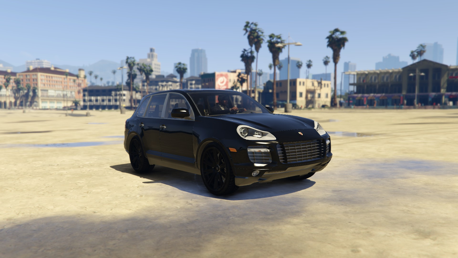 2009 porsche cayenne turbo s gta5. Black Bedroom Furniture Sets. Home Design Ideas