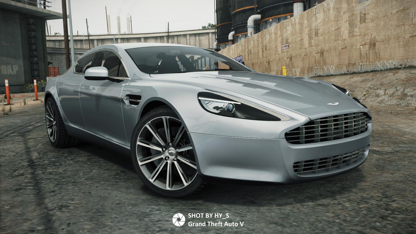 2010 Aston Martin Rapide Add On Gta5 Mods Com