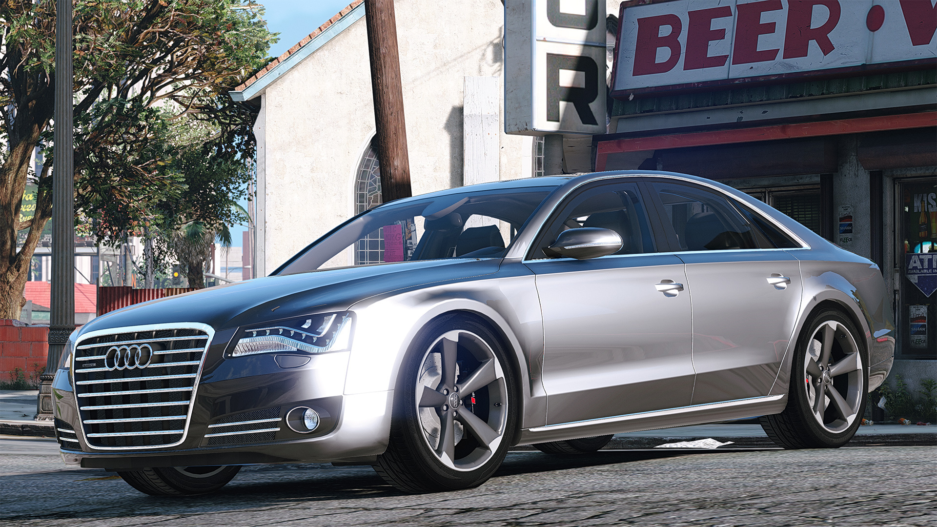 2010 audi a8 fsi add on replace gta5. Black Bedroom Furniture Sets. Home Design Ideas