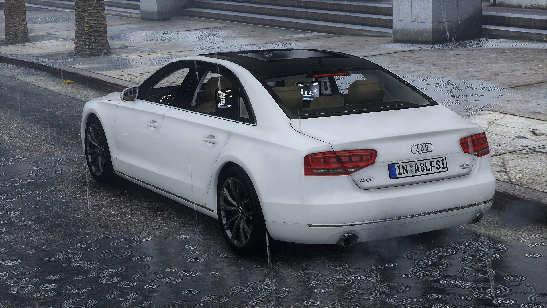 2010 Audi A8 L 4.2 FSI Quattro (D4) [Add-On