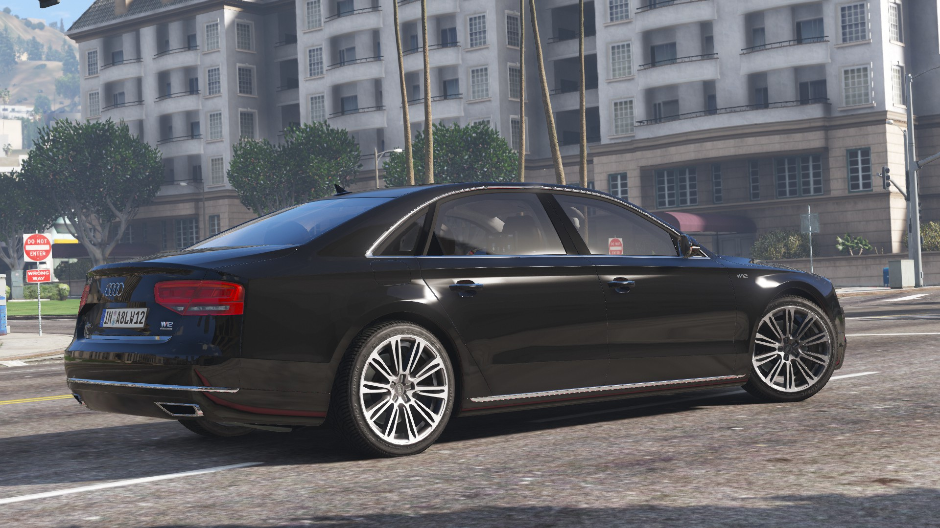 2010 audi a8 l w12 quattro add on gta5. Black Bedroom Furniture Sets. Home Design Ideas