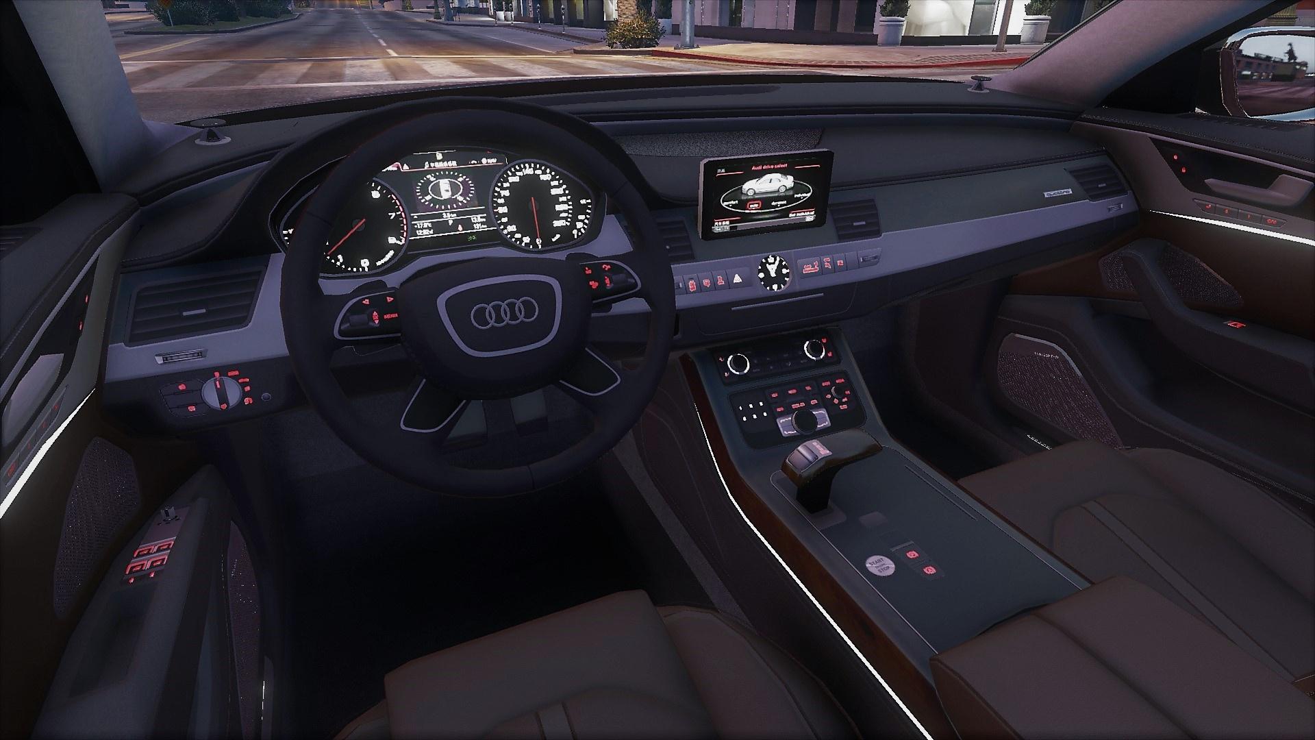 2011 Audi A8 L W12 Quattro (D4) [Add-On | tuning] - GTA5 ...