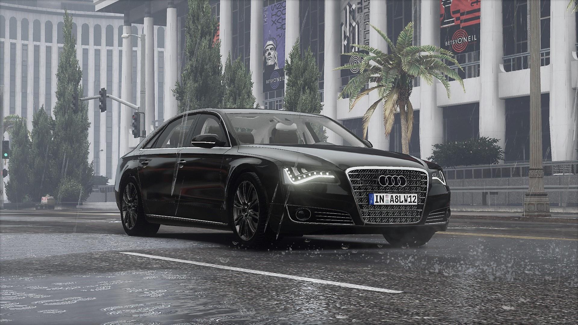 Audi A L W Quattro D AddOn Tuning GTAModscom - Audi a8 l w12