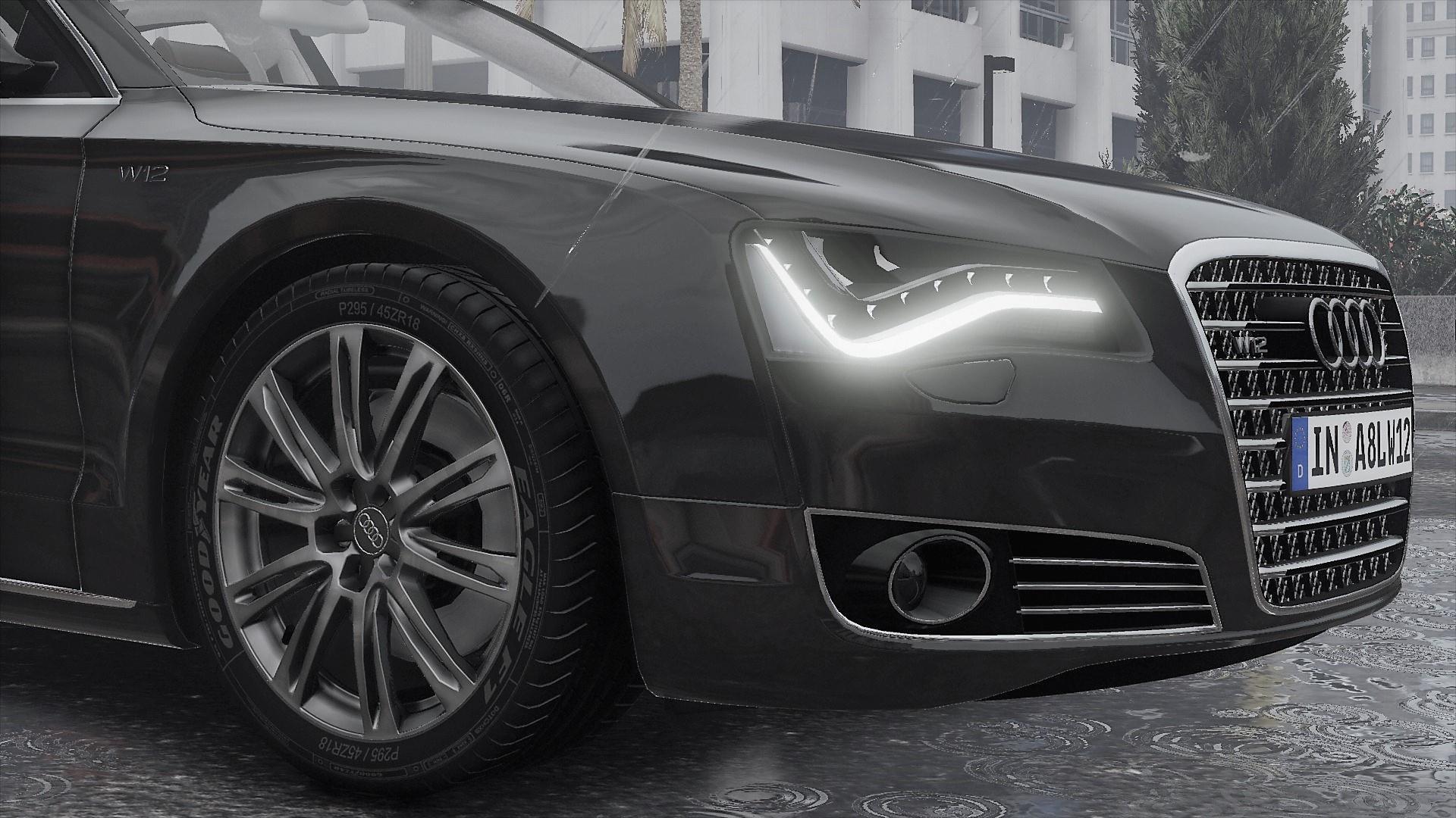 Audi A8 W12 >> 2011 Audi A8 L W12 Quattro D4 Add On Tuning Gta5 Mods Com