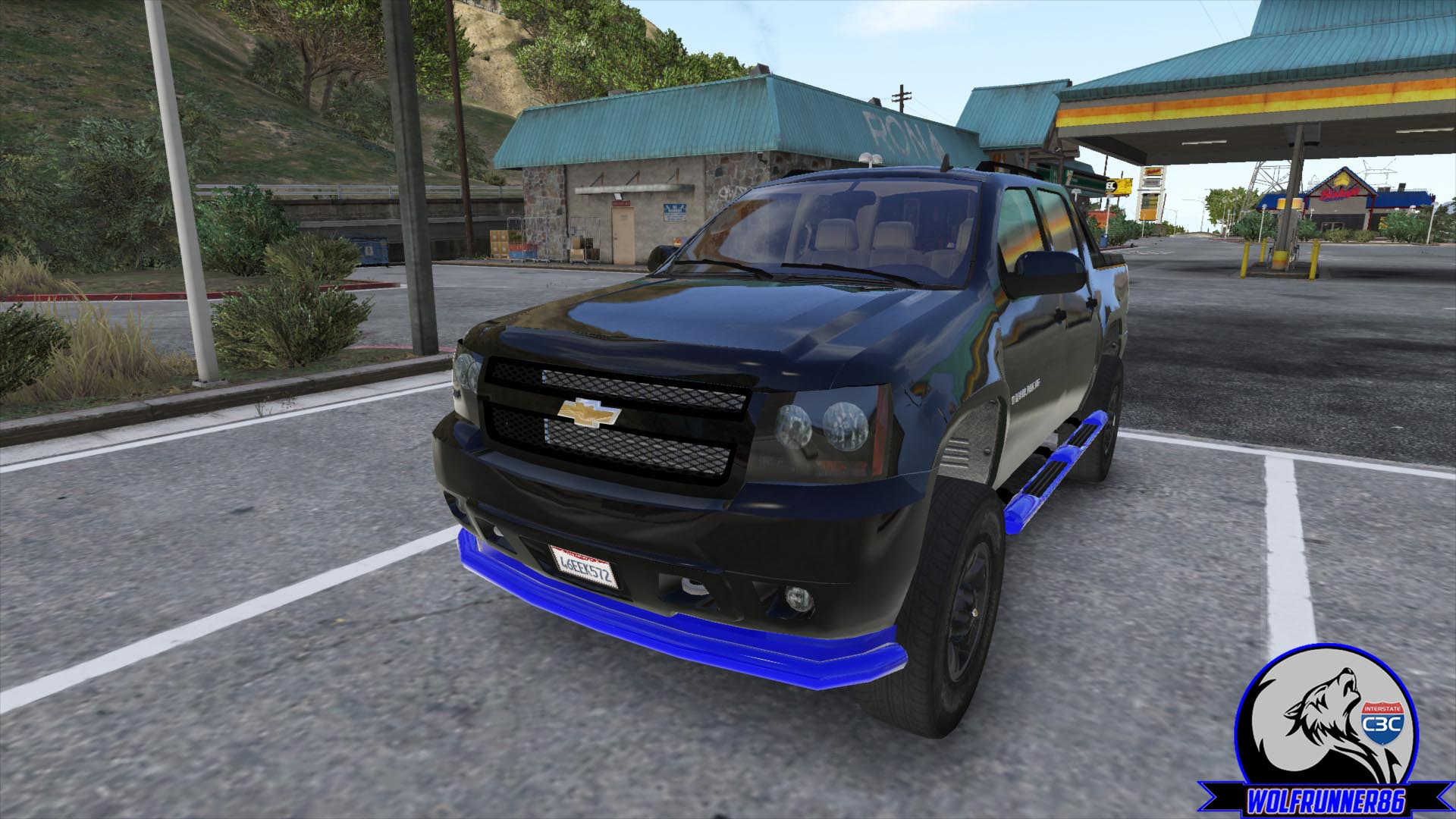 2010 Chevy Avalanche GTA5 Mods