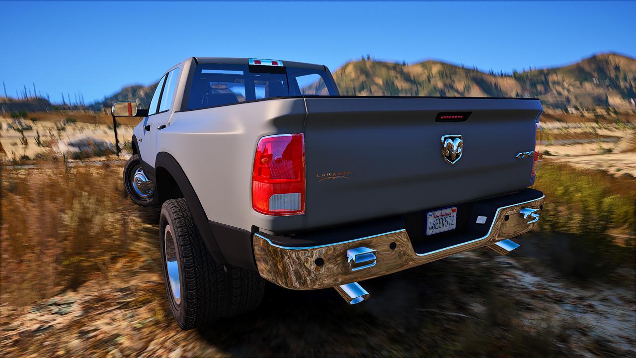 2010 Dodge Ram 3500 & PJ Gooseneck trailer [ADDON+REPLACE] - GTA5-Mods.com