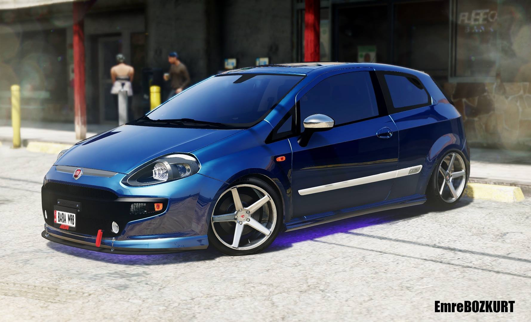 2010 Fiat Punto Evo Sport Add On Replace Gta5 Mods Com