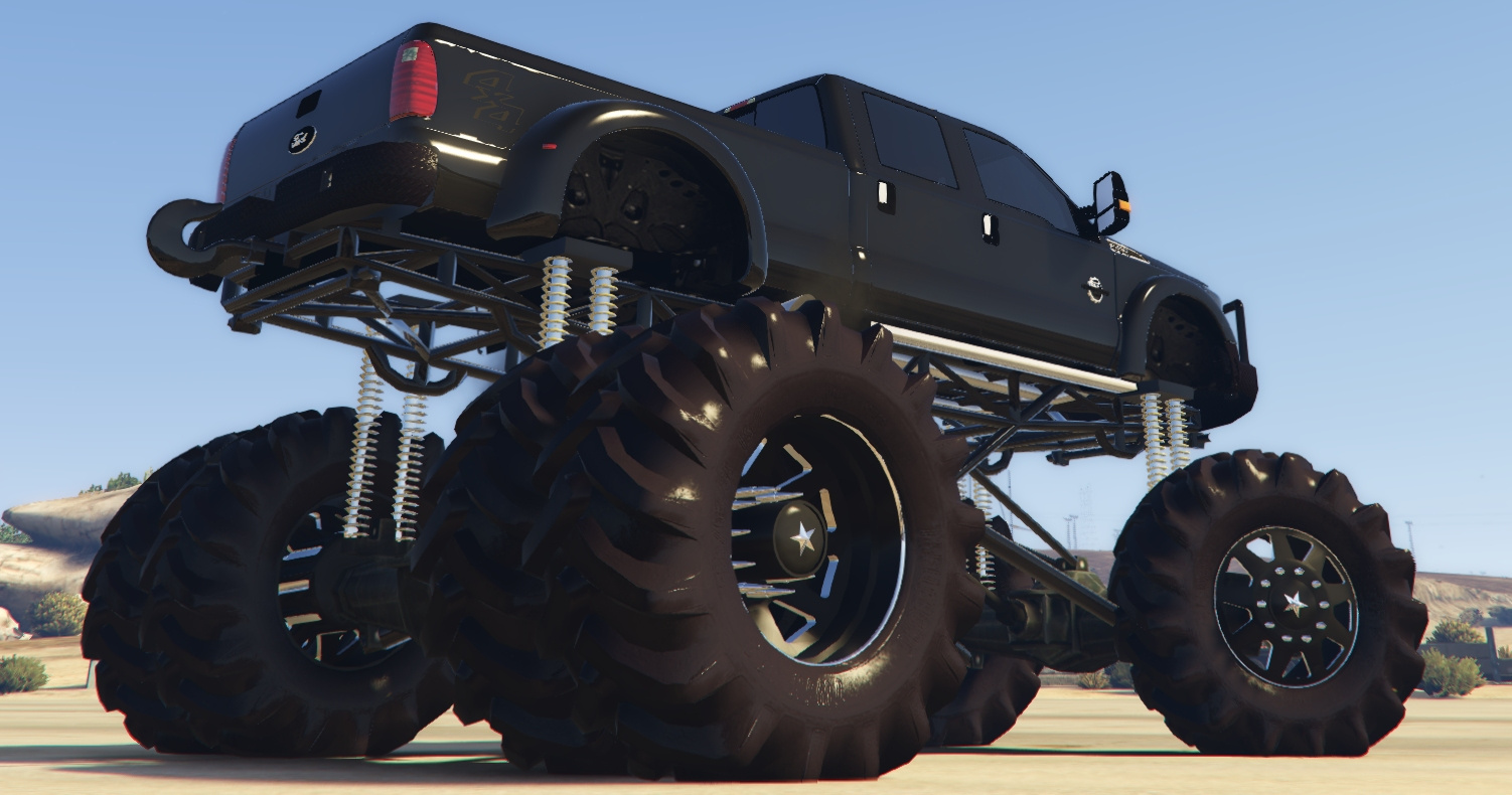 The Truck That Broke The Internet >> 2010 Ford F-450 Mega Mud Truck: The Truck That Broke The Internet! - GTA5-Mods.com