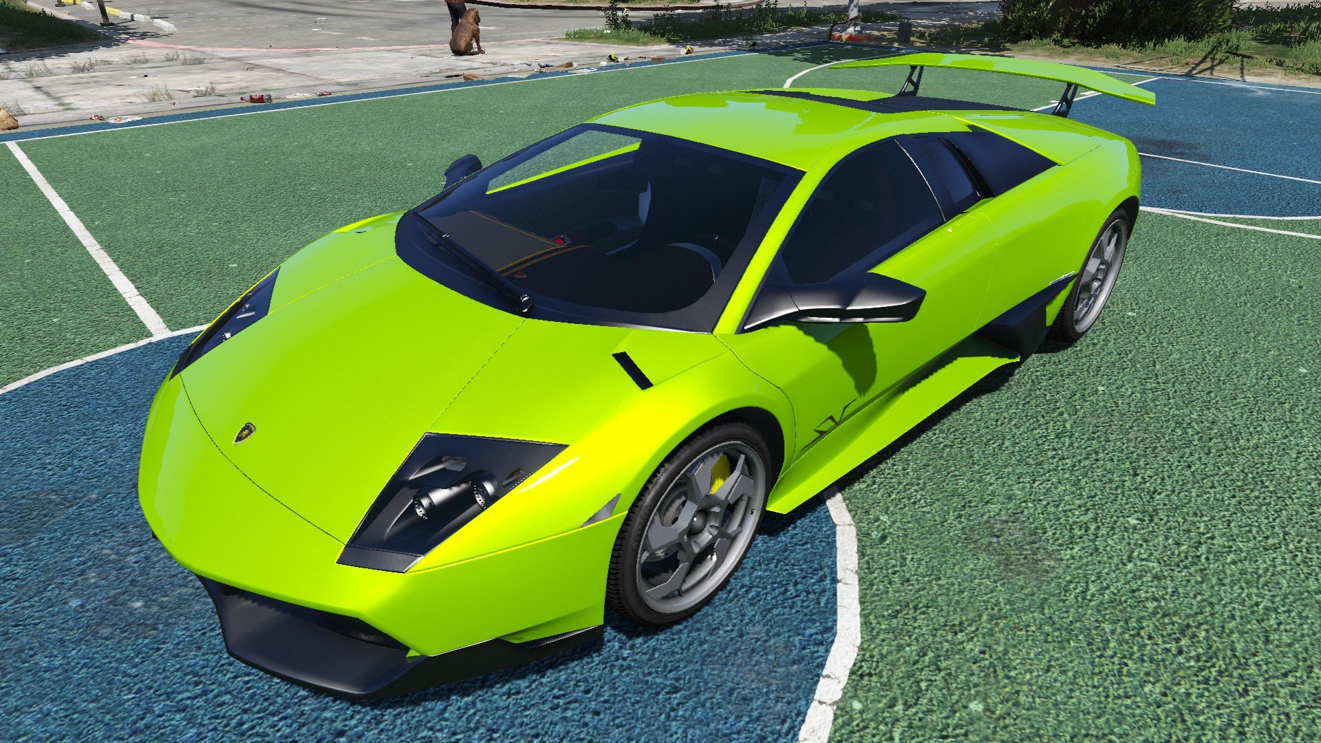 2010 lamborghini murcielago lp 670 4 sv gta5. Black Bedroom Furniture Sets. Home Design Ideas