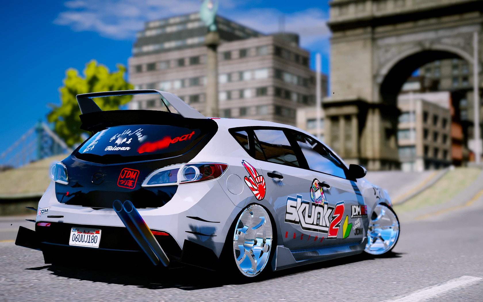 Livery For 2010 Mazda 3 Modify Gta5 Mods Com