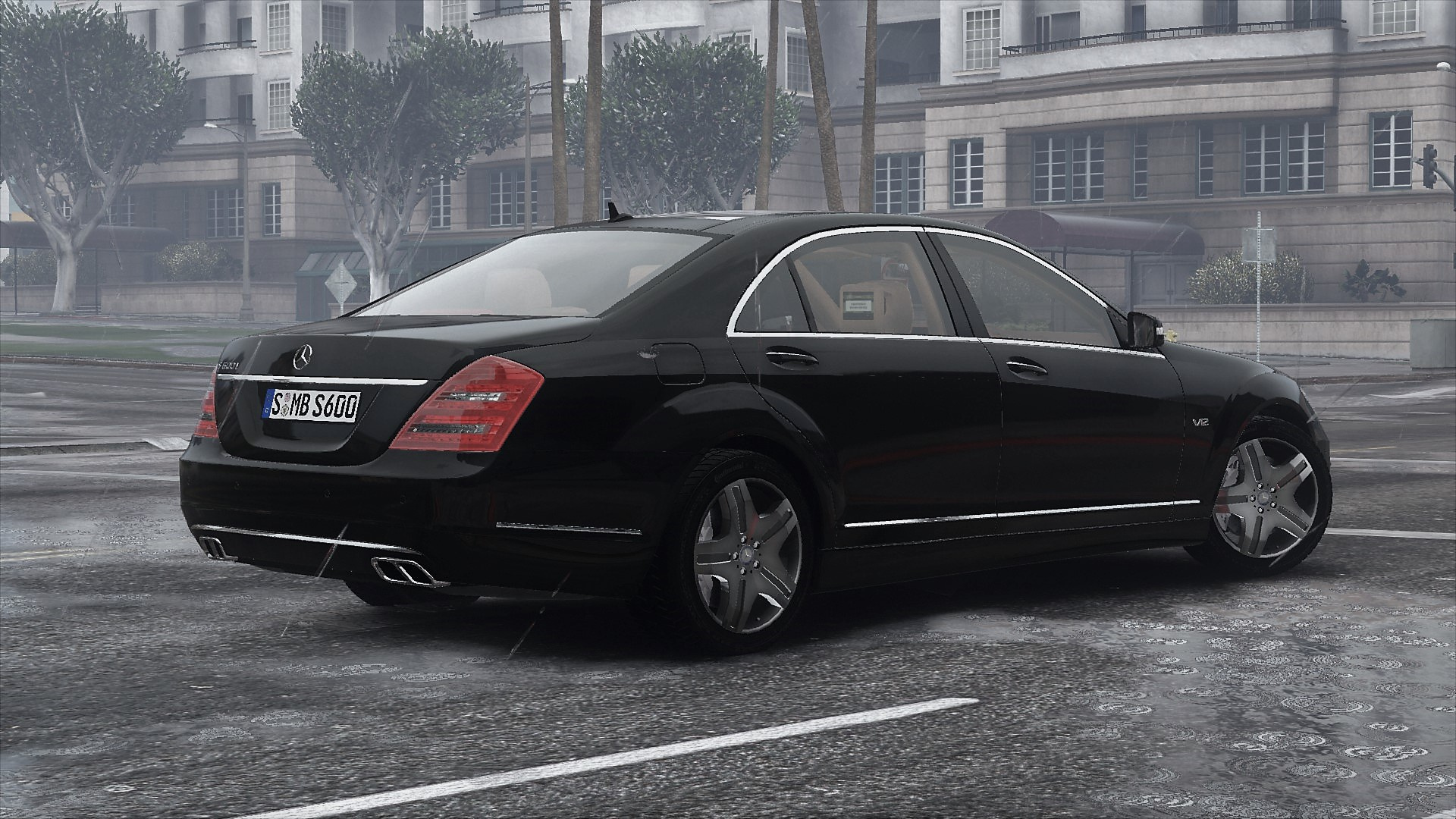 2010 mercedes benz s600 l w221 add on tuning gta5. Black Bedroom Furniture Sets. Home Design Ideas
