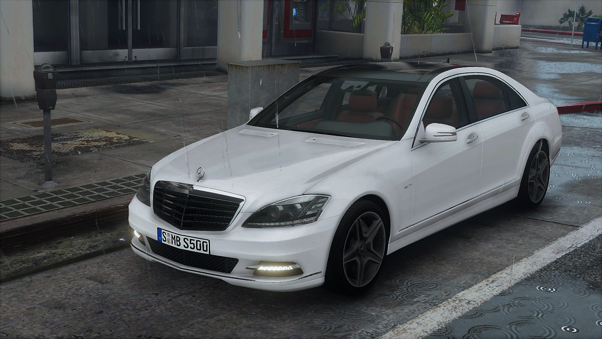2012 mercedes benz s500 l 4matic w221 add on tuning for Mercedes benz tuning