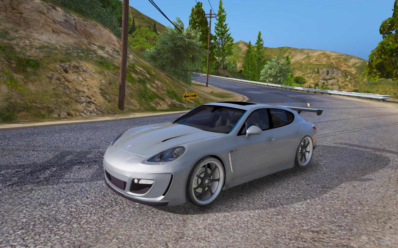 2010 porsche panamera turbo gta5 - Porsche panamera 5 portes ...