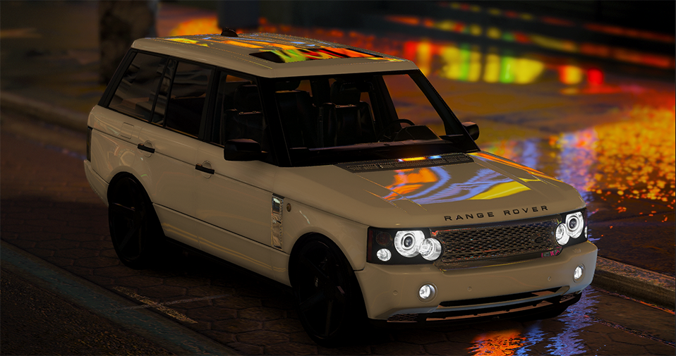 2008 Range Rover Supercharged Add On Replace Gta5