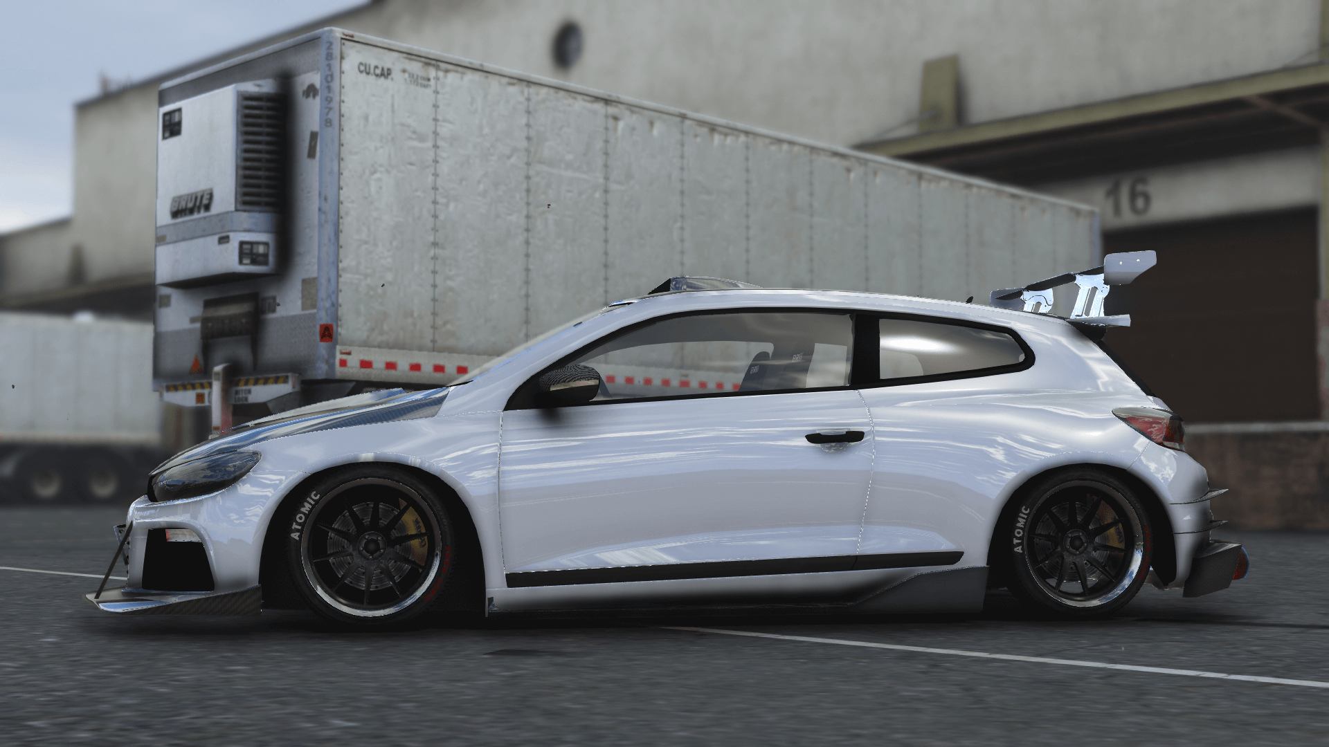 2010 volkswagen scirocco modify add on template tuning gta5. Black Bedroom Furniture Sets. Home Design Ideas