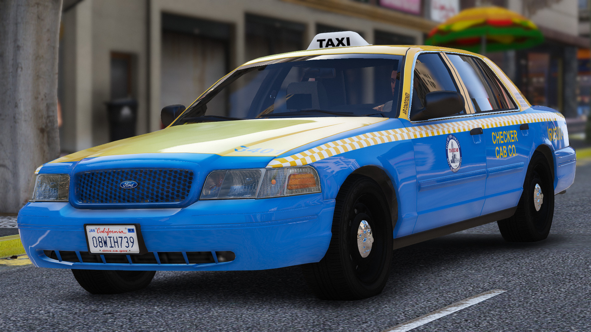 2011 ford crown victoria la taxi gta5. Black Bedroom Furniture Sets. Home Design Ideas