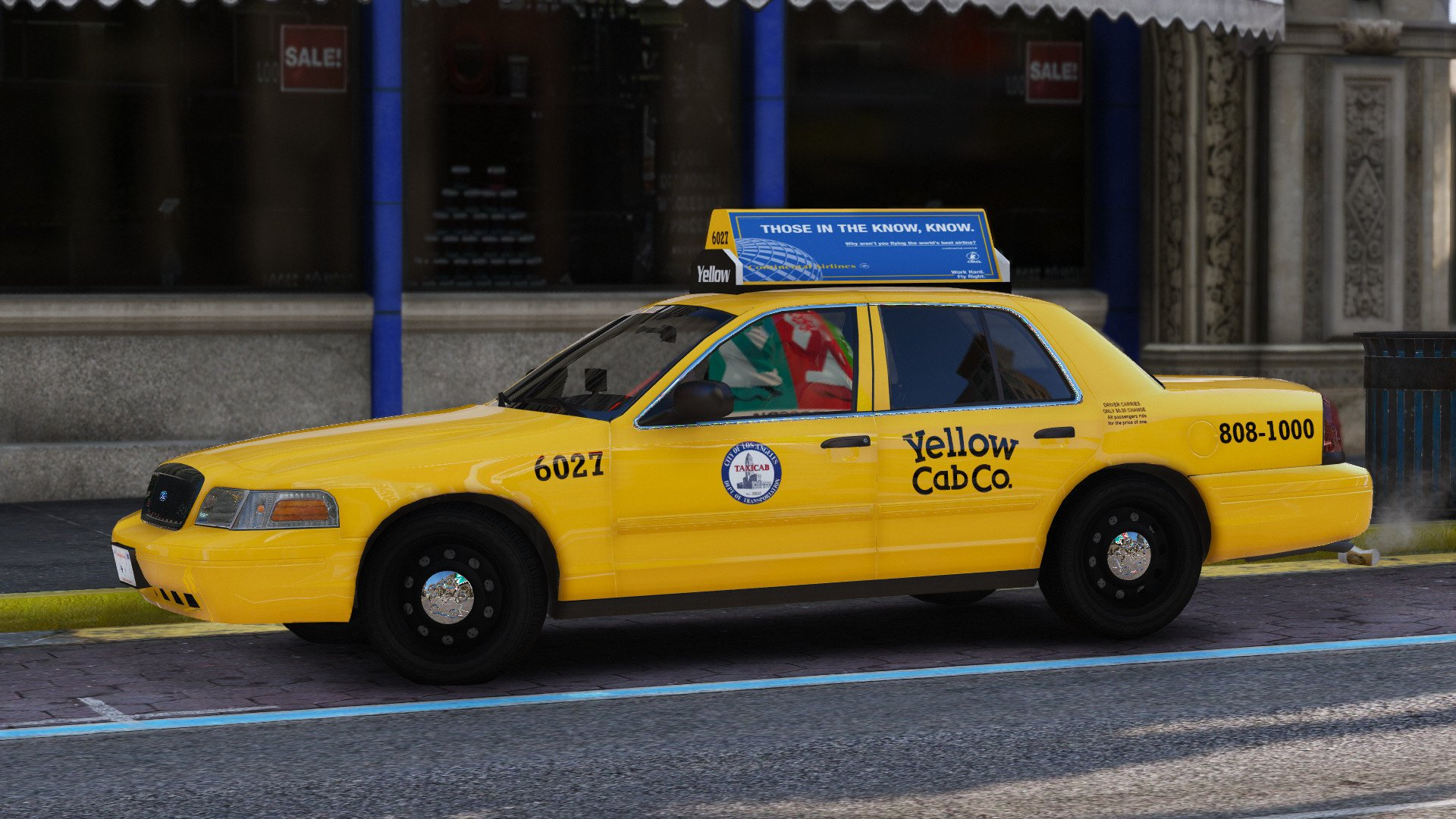 2011 Ford Crown Victoria Los Angeles Taxi