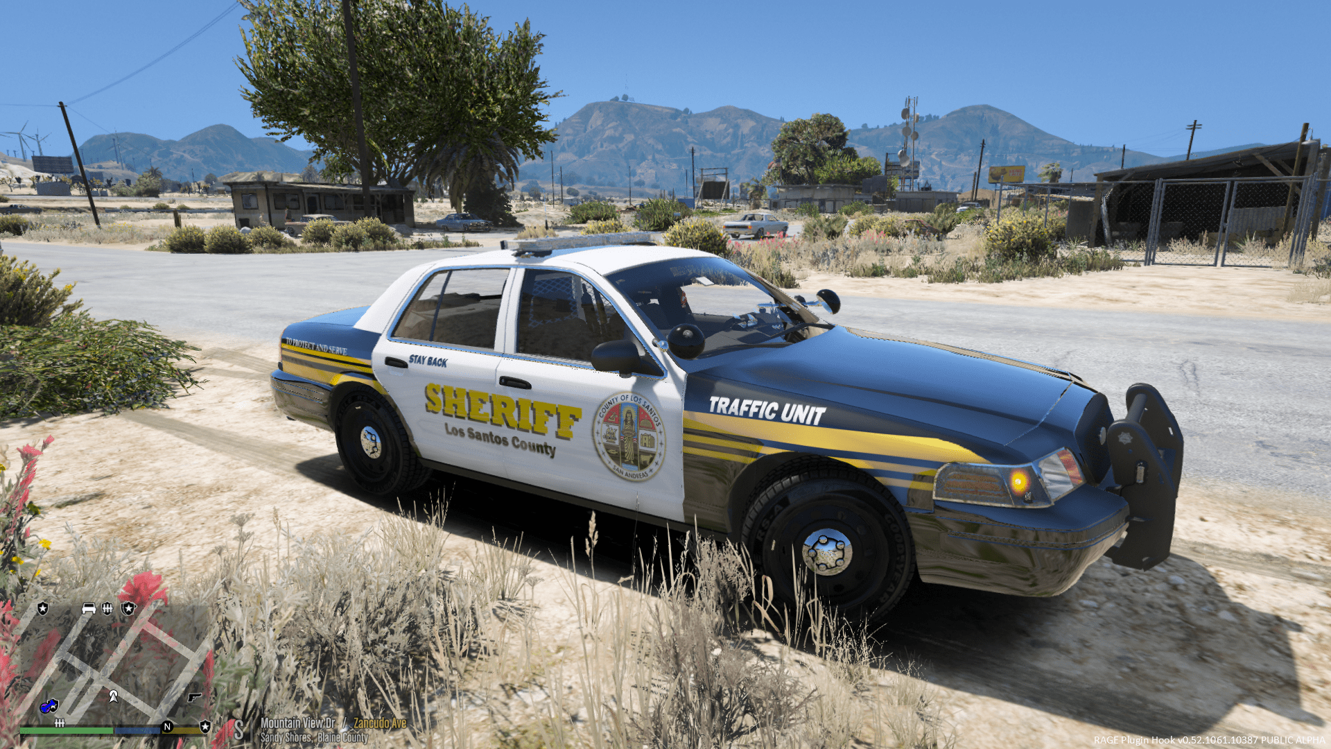 2011 ford crown victoria los santos county skin bxbugs123. Black Bedroom Furniture Sets. Home Design Ideas