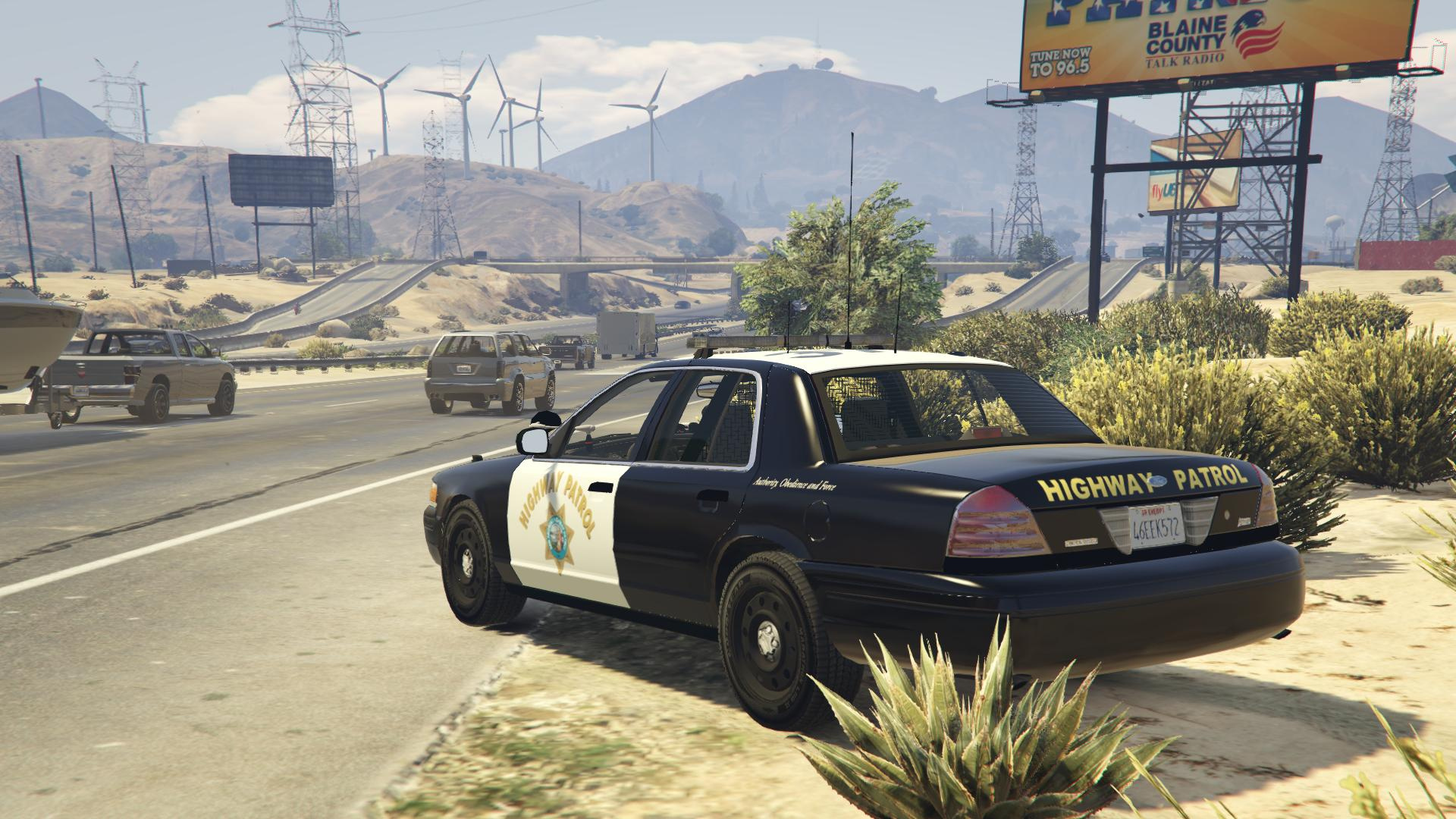 ford crown victoria police interceptor san andreas