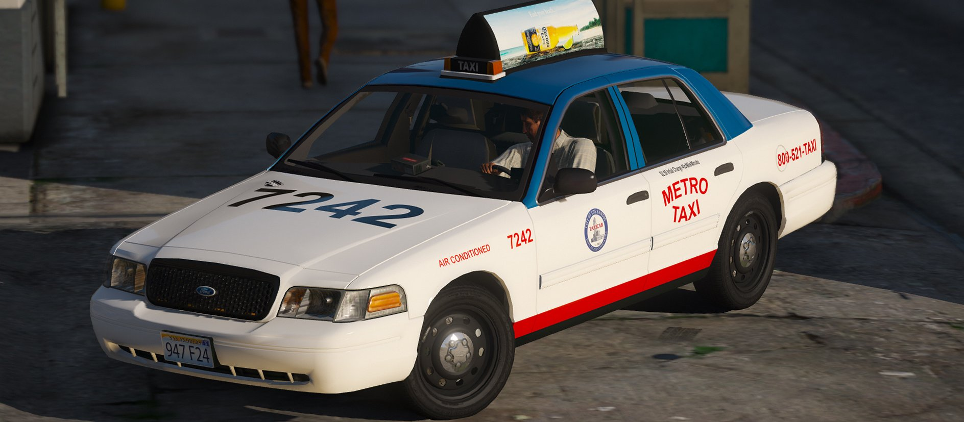 2011 Ford Crown Victoria Taxi  Replace