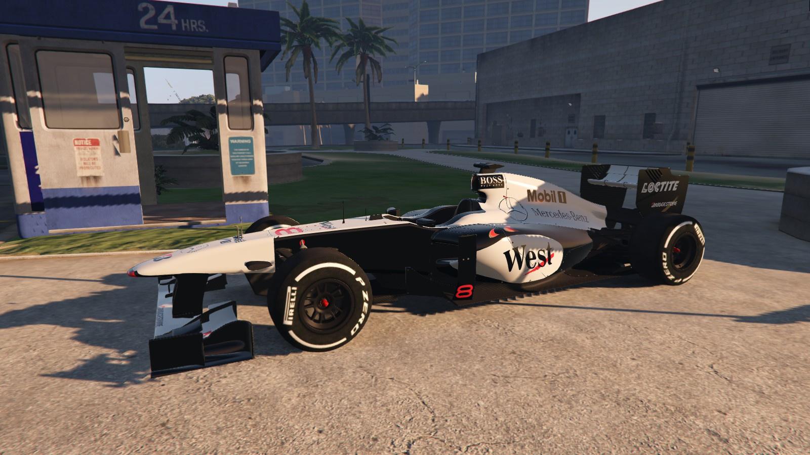 2011 Formula One Livery Mika Hakkinen Mclaren Mp4 13 1998