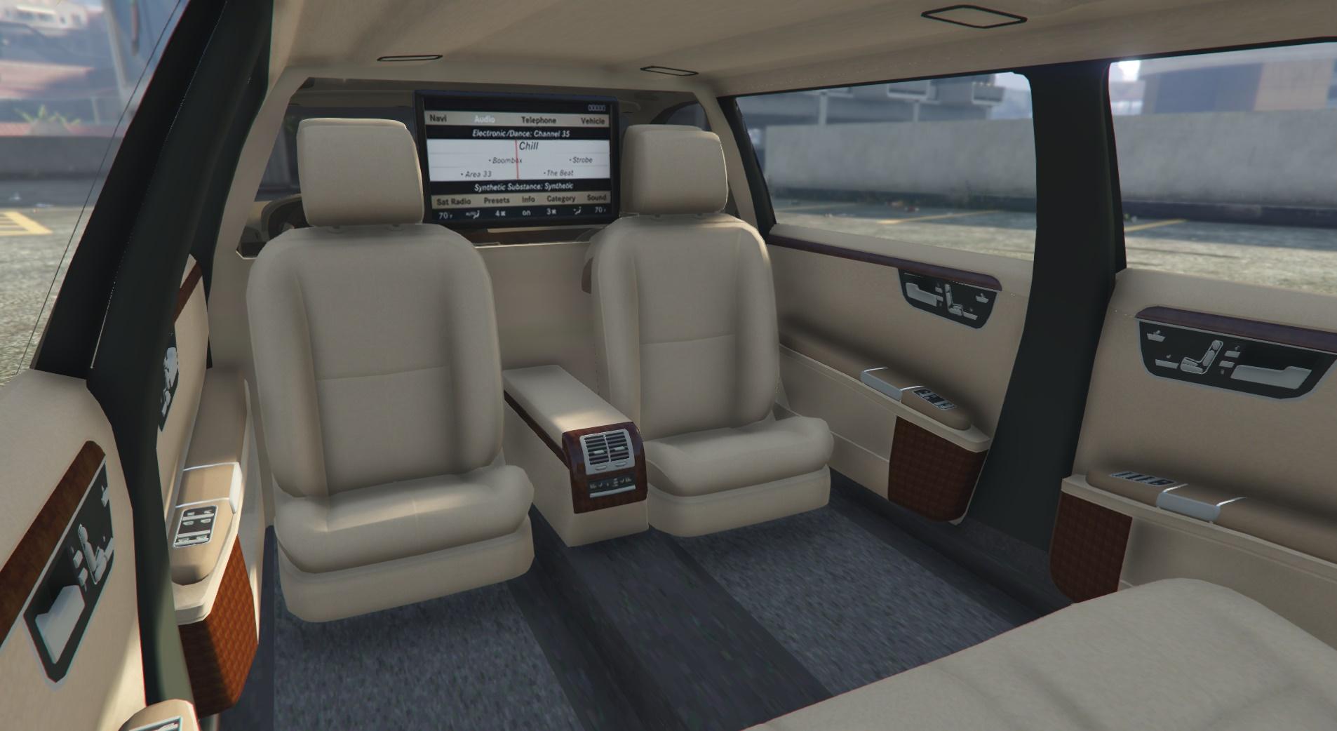 2011 Mercedes Benz S600 Guard Pullman Gta5 Mods Com