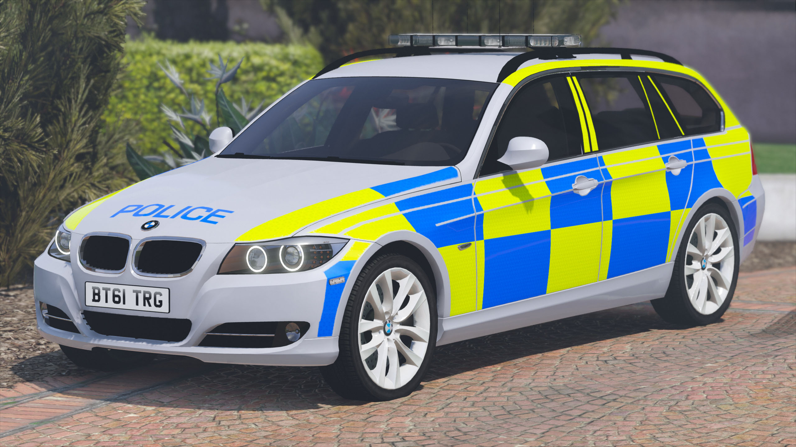 2011 police bmw 330d touring gta5. Black Bedroom Furniture Sets. Home Design Ideas