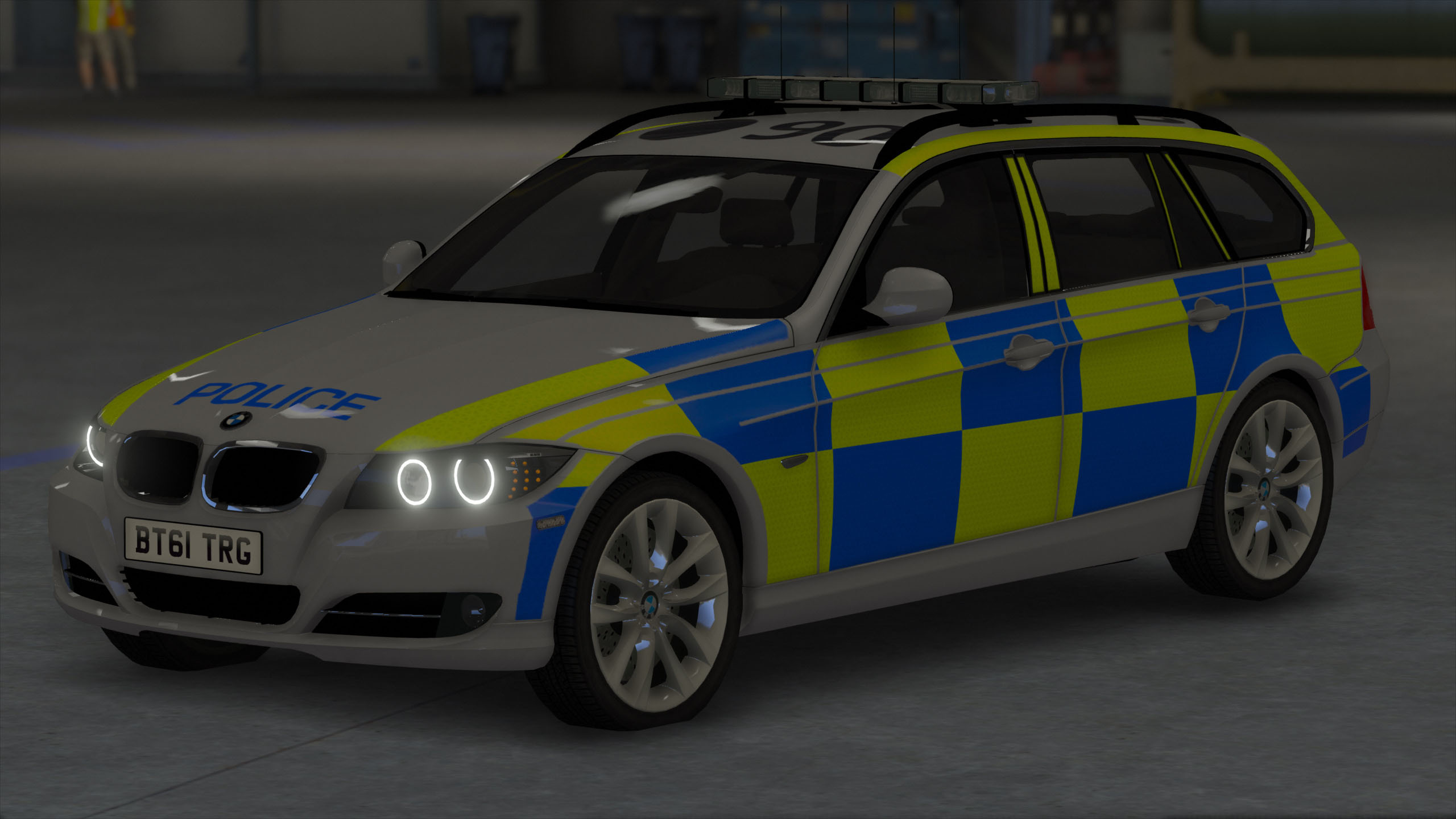 Bmw 5 series touring police 2013 uk wallpapers and hd images car - 5c3150 Gta5 2016 04 13 11 31 52 146