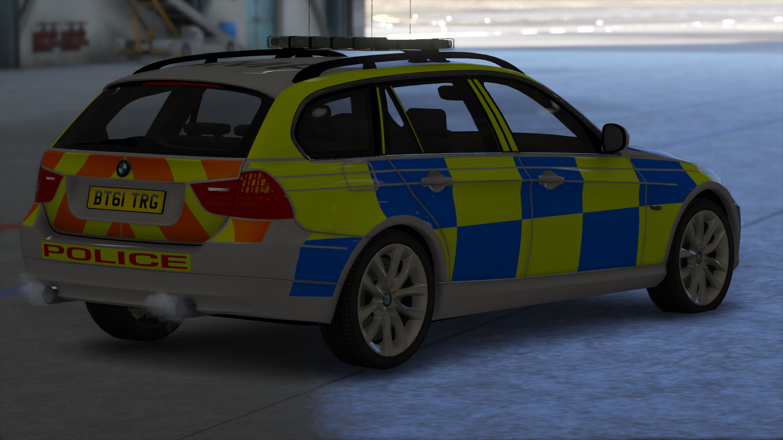 Bmw 5 series touring police 2013 uk wallpapers and hd images car - 5c3150 Gta5 2016 04 13 11 32 04 943