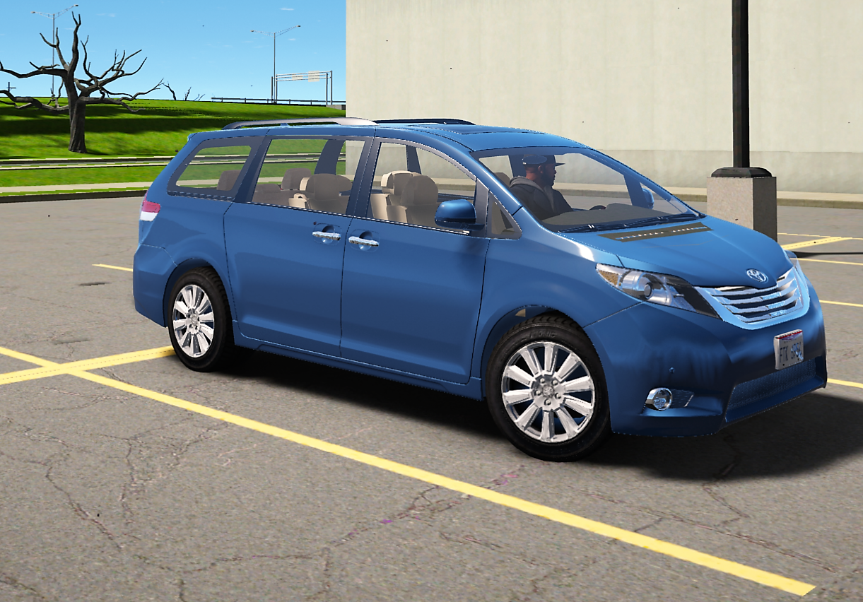 2011 toyota sienna limited add on replace gta5. Black Bedroom Furniture Sets. Home Design Ideas