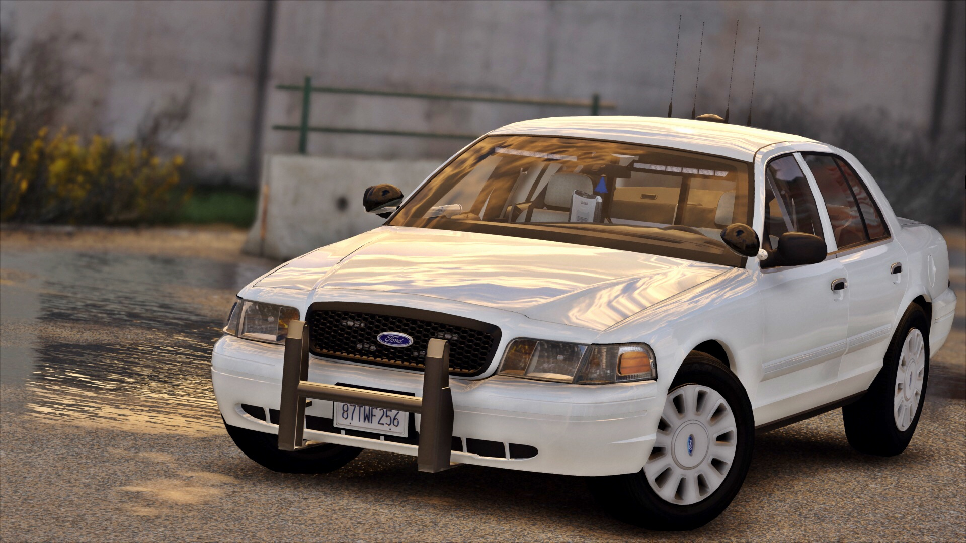 2017 ford crown victoria police