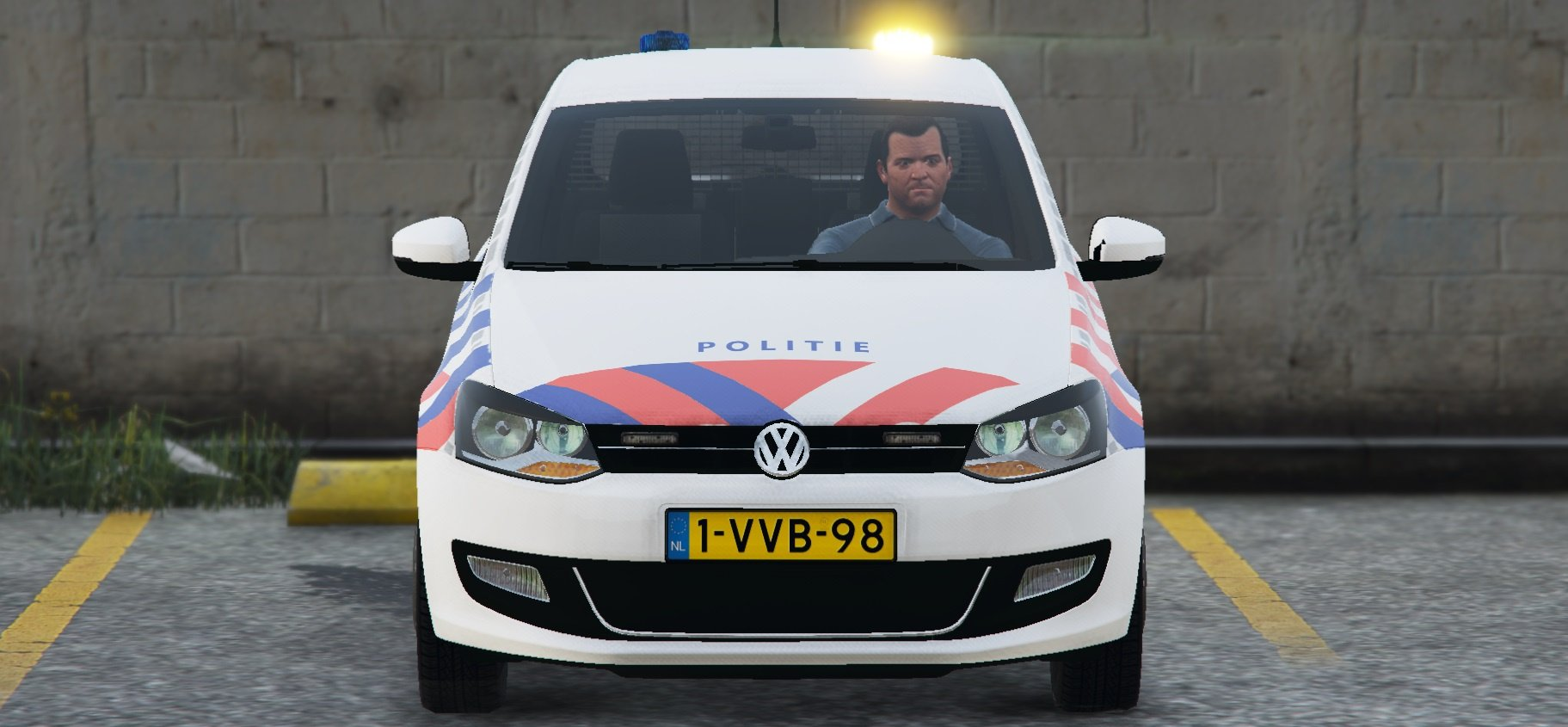 2011 volkswagen polo politie els new version gta5. Black Bedroom Furniture Sets. Home Design Ideas