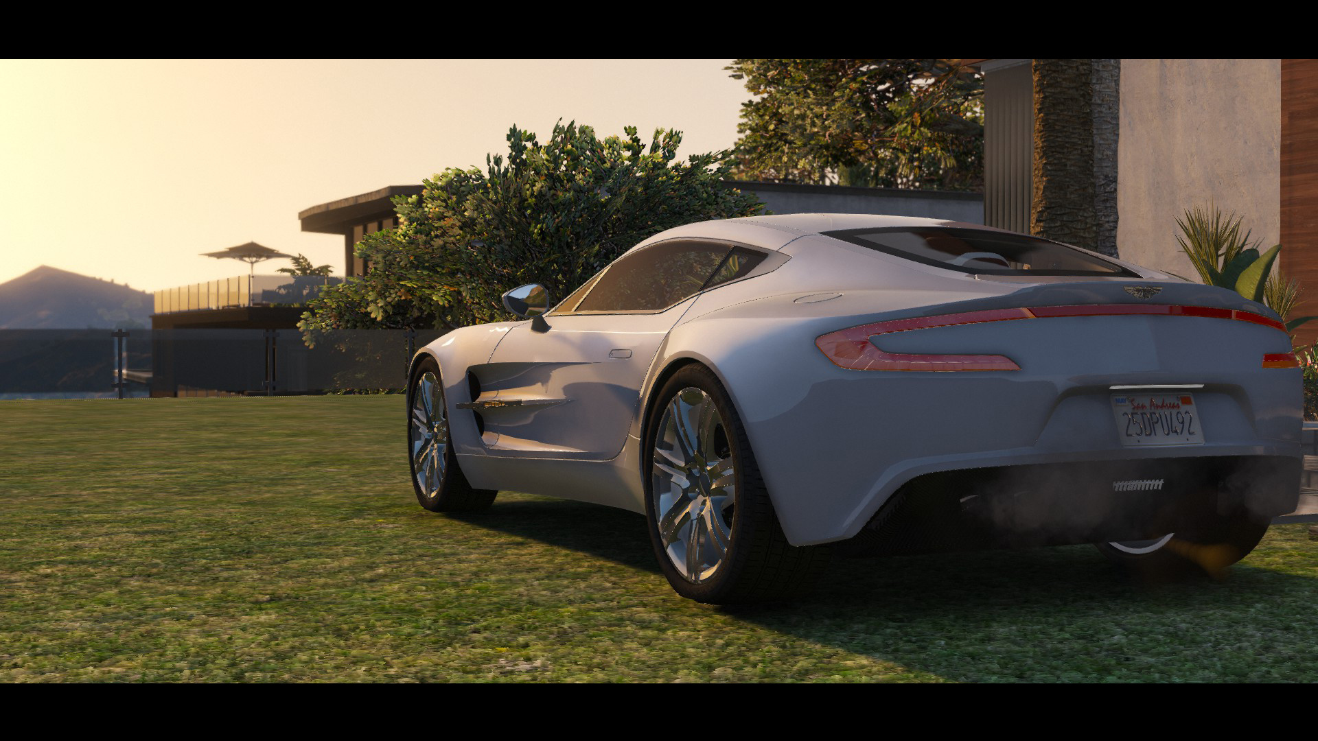 2012 Aston Martin One 77 Replace Tuning Auto Spoiler Lods Gta5 Mods Com