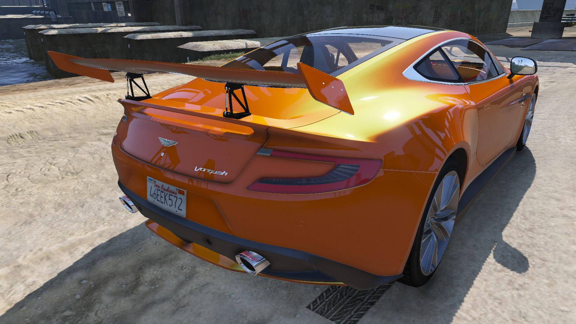 Aston Martin Vanquish GTAModscom - Aston martin jobs