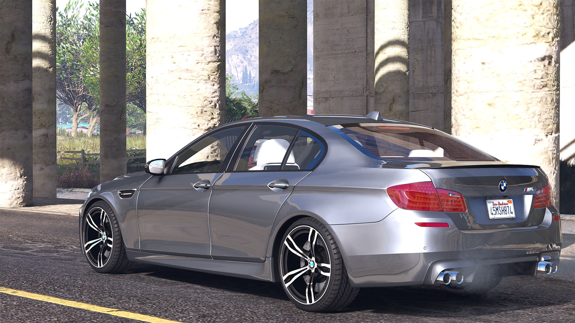 2012 bmw m5 f10 add on replace tuning animated gta5. Black Bedroom Furniture Sets. Home Design Ideas