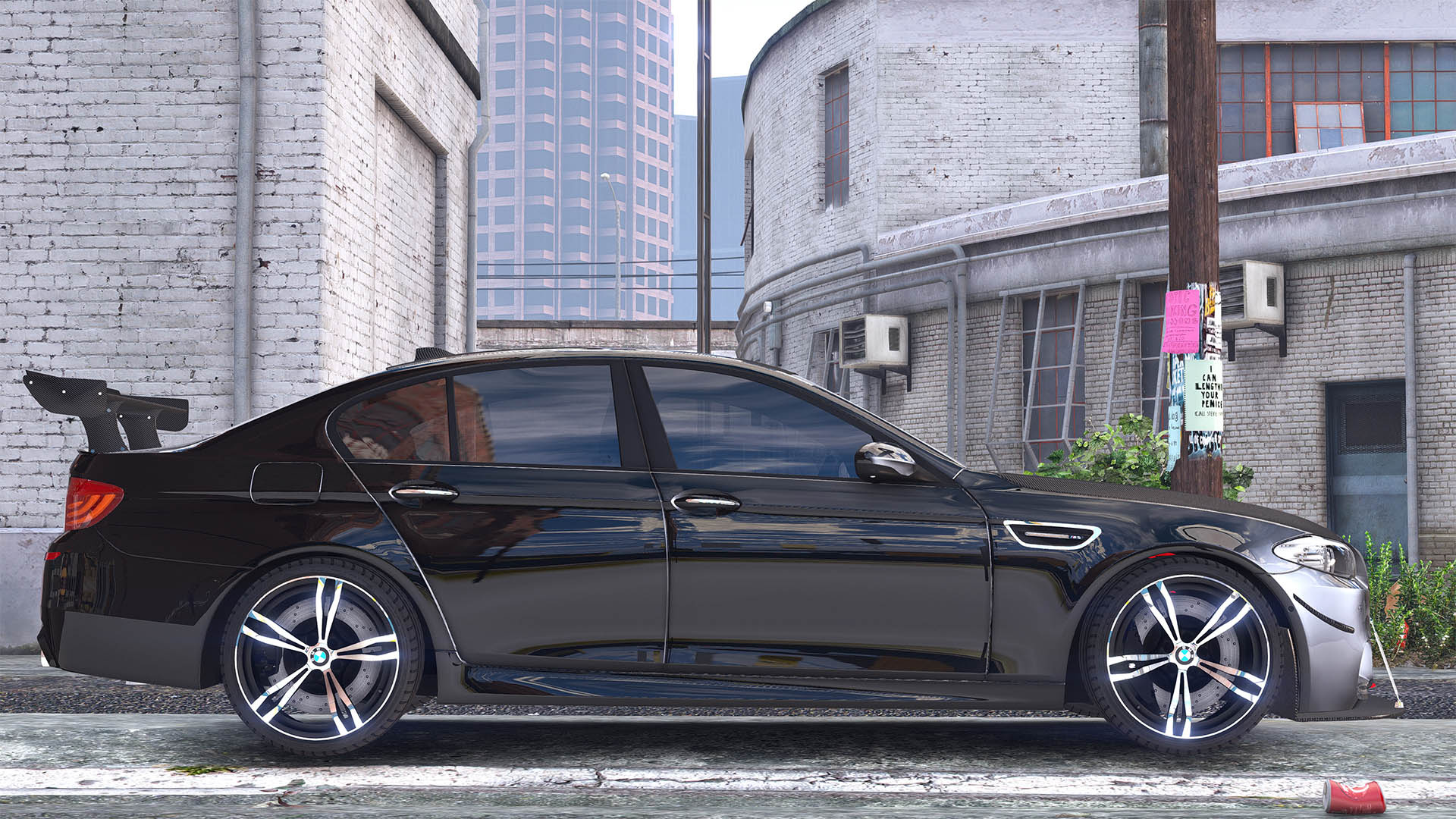 2012 Bmw M5 F10 Add On Replace Tuning Animated Gta5 Mods Com