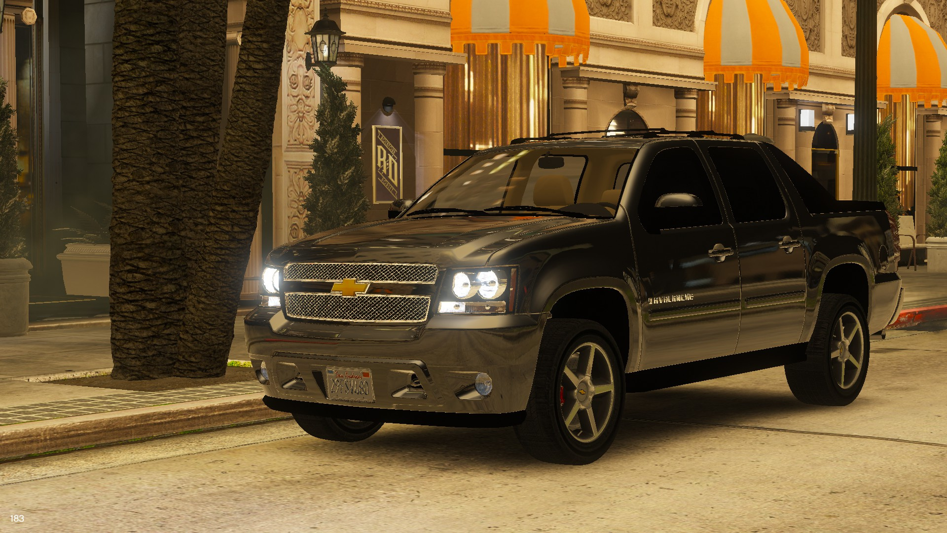 2012 Chevrolet Avalanche Replace Unlocked Gta5 Mods Com