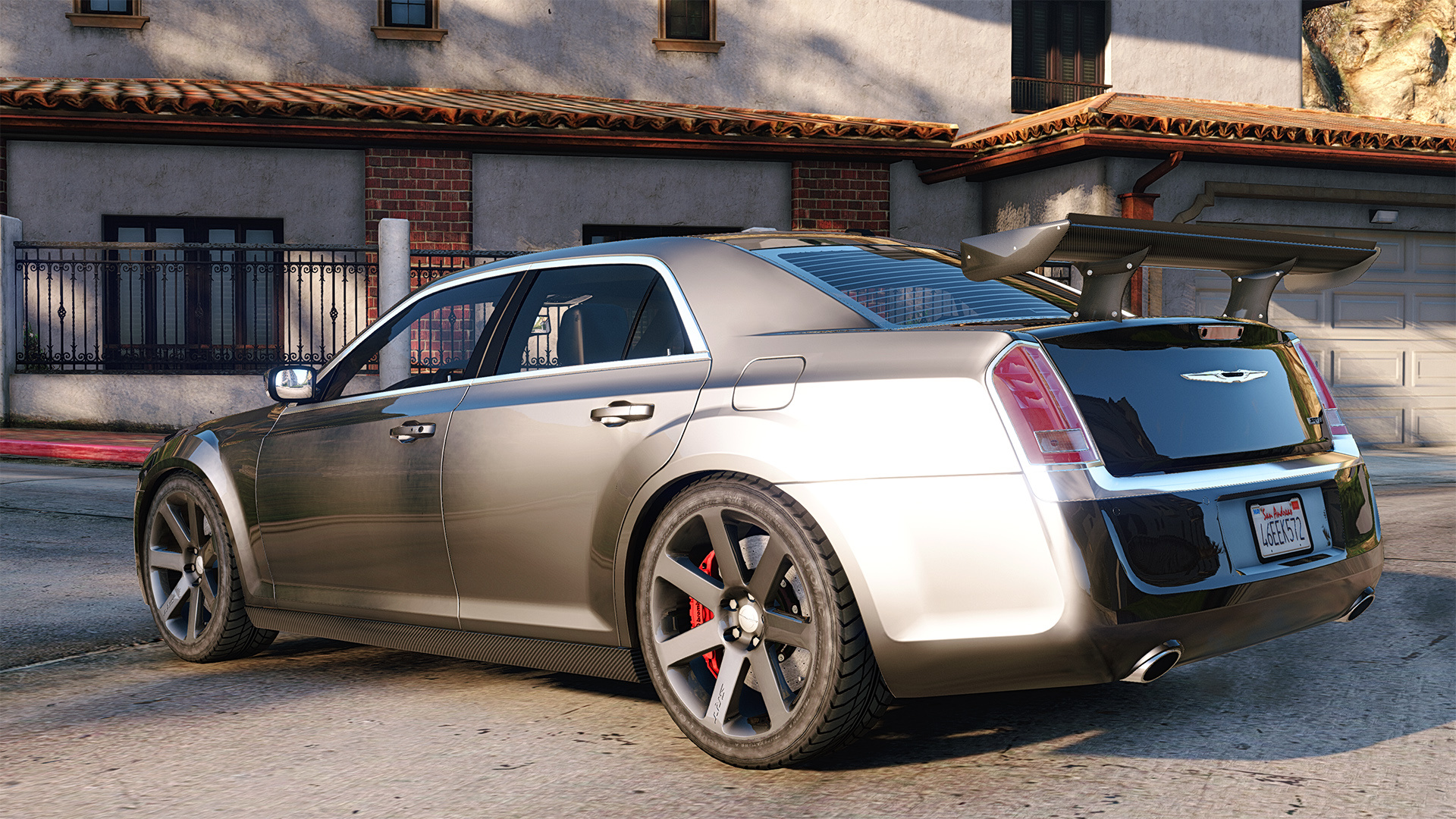2012 chrysler 300 srt8 add on replace tuning gta5. Black Bedroom Furniture Sets. Home Design Ideas