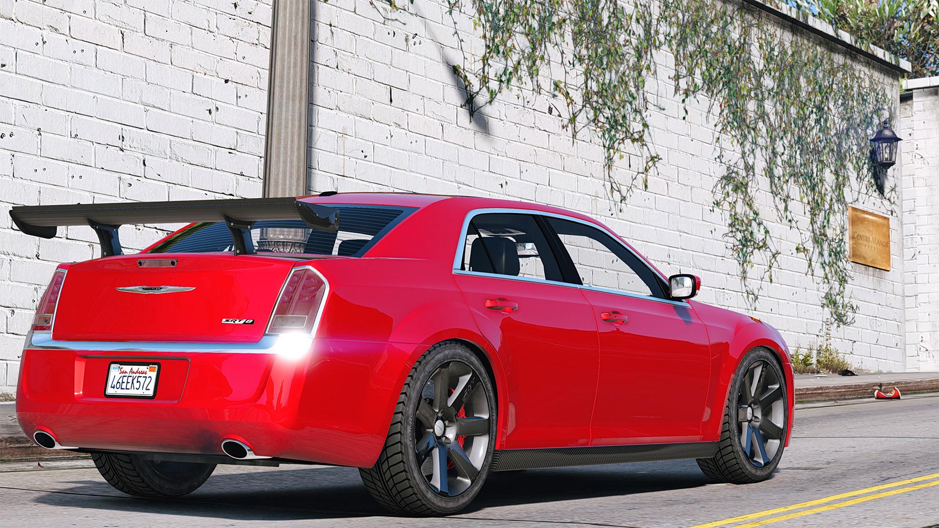 2012 Chrysler 300 Srt8 Add On Replace Tuning Gta5