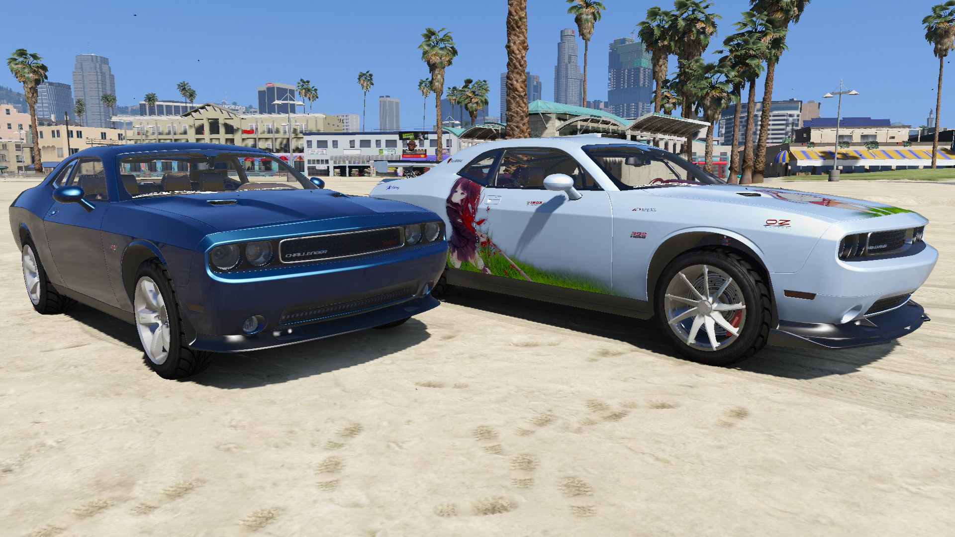 2012 Dodge Challenger Srt8 392 Gta5 Mods Com