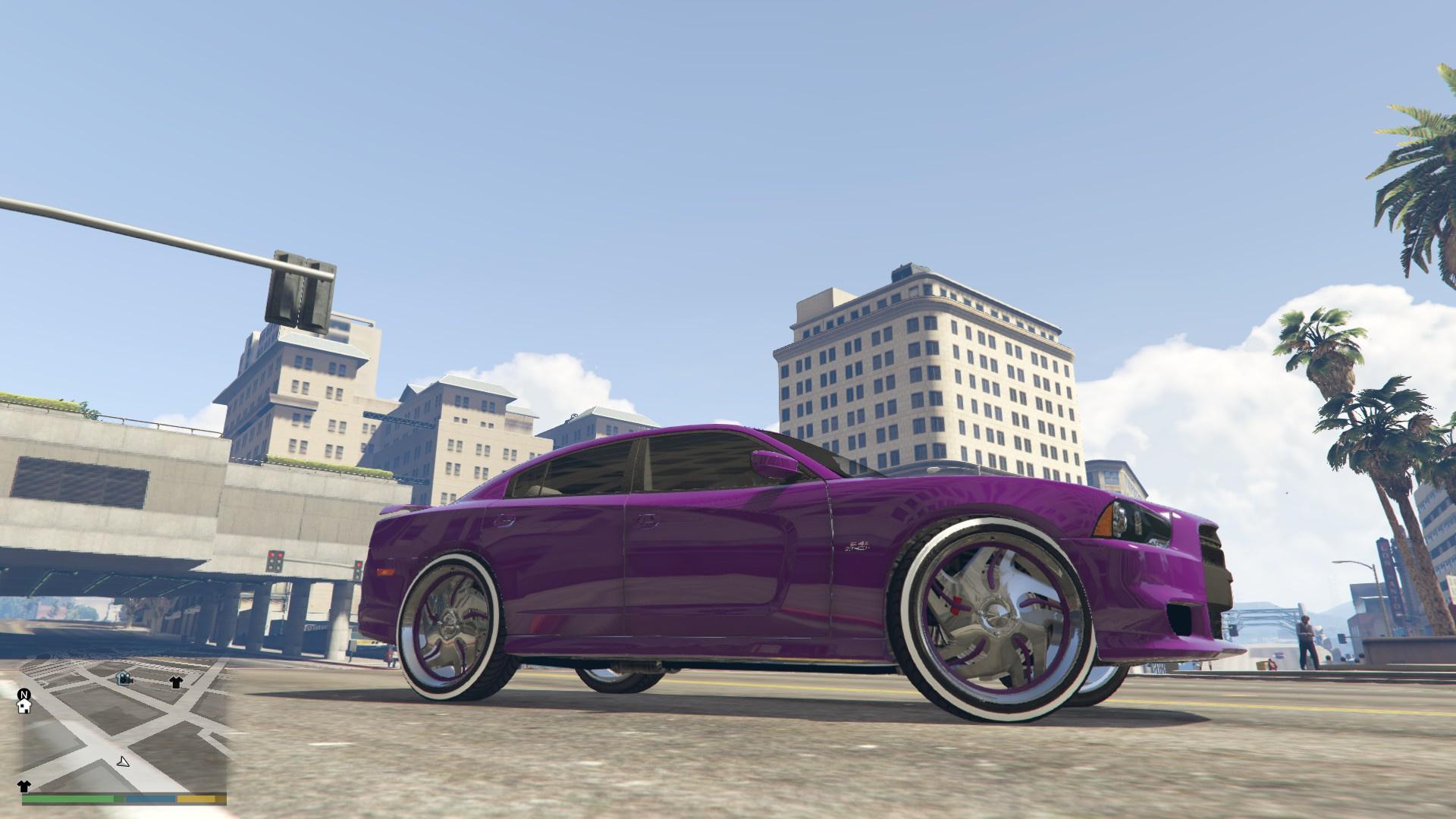 2012 Dodge Charger Srt8 Donk Gta5 Mods Com