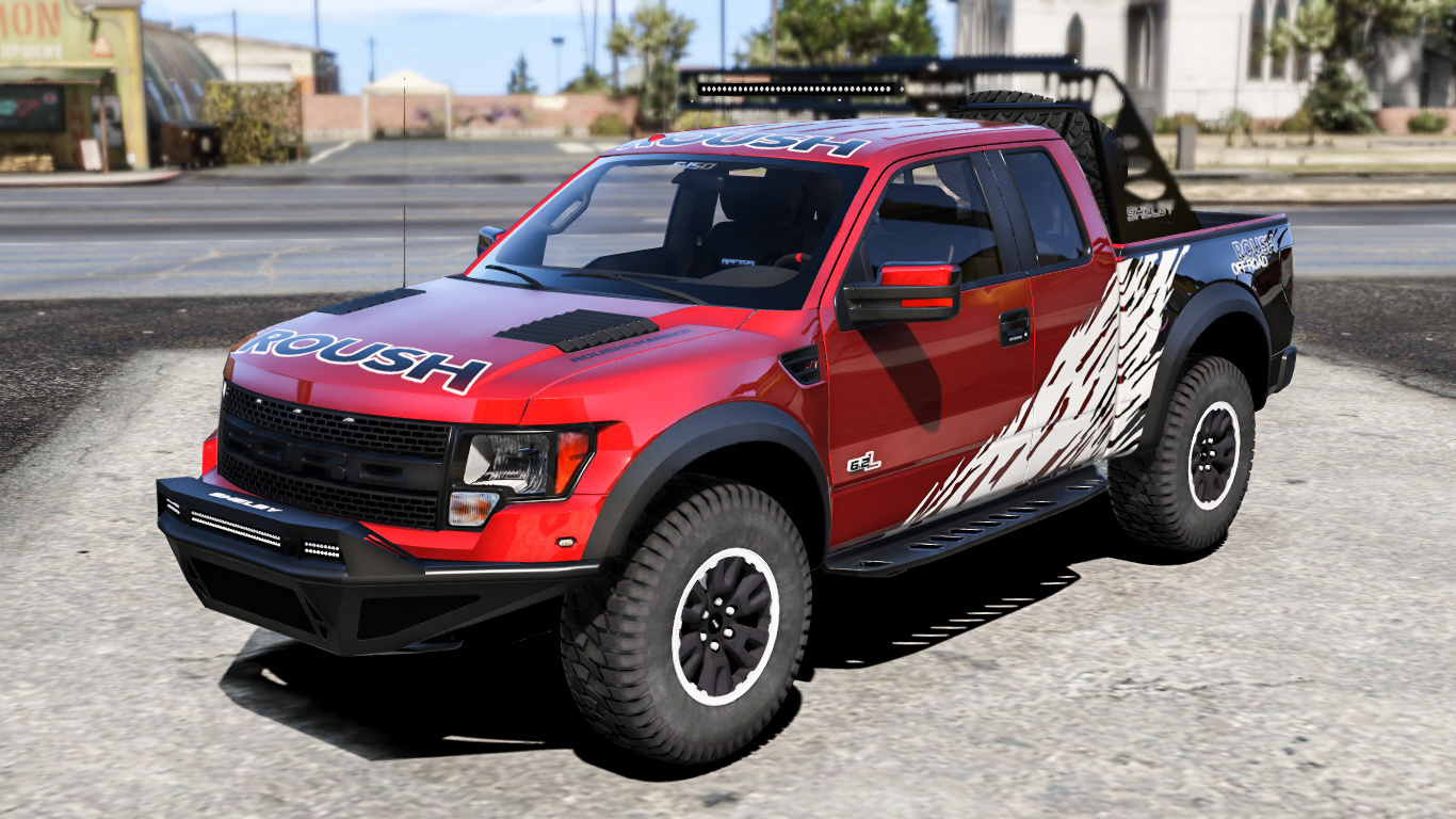 2012 ford f150 svt raptor r add on replace gta5. Black Bedroom Furniture Sets. Home Design Ideas