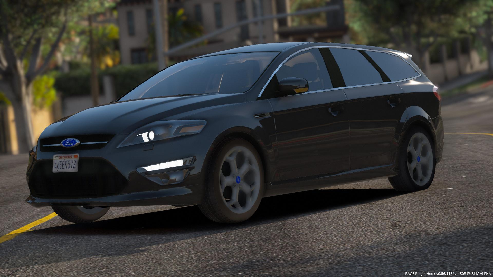 2012 ford mondeo mk4 titaniumx station wagon replace gta5. Black Bedroom Furniture Sets. Home Design Ideas