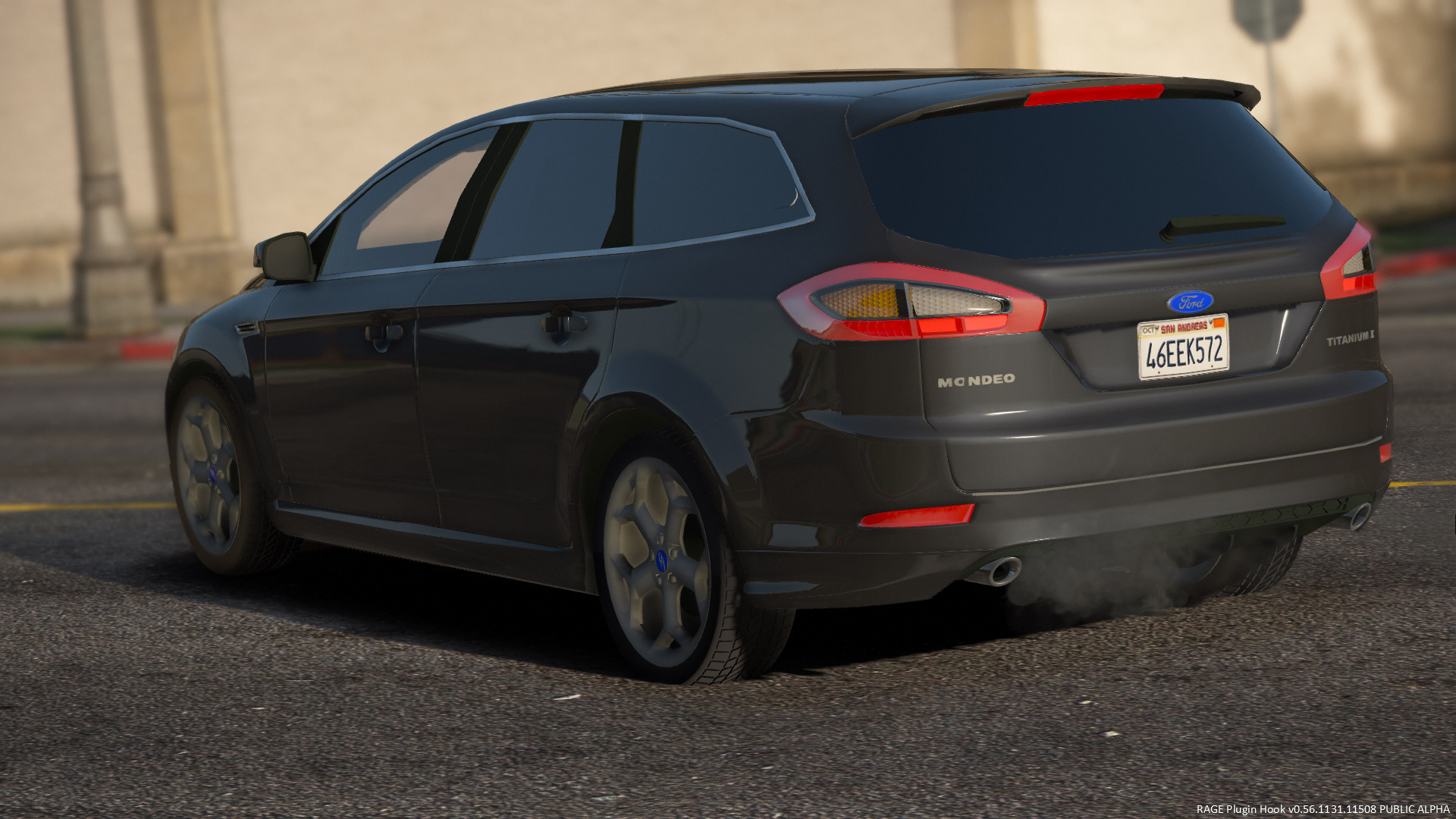 2012 ford mondeo mk4 titaniumx station wagon replace gta5. Black Bedroom Furniture Sets. Home Design Ideas