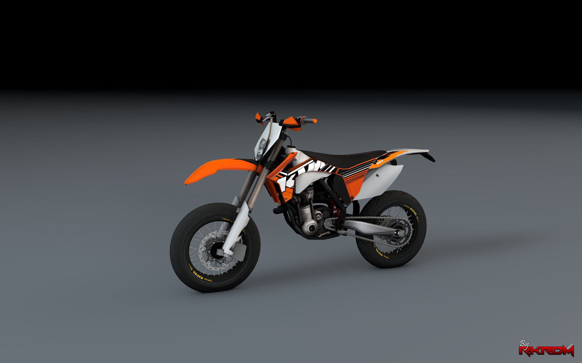 2012 ktm exc f 250 supermotard add on gta5. Black Bedroom Furniture Sets. Home Design Ideas
