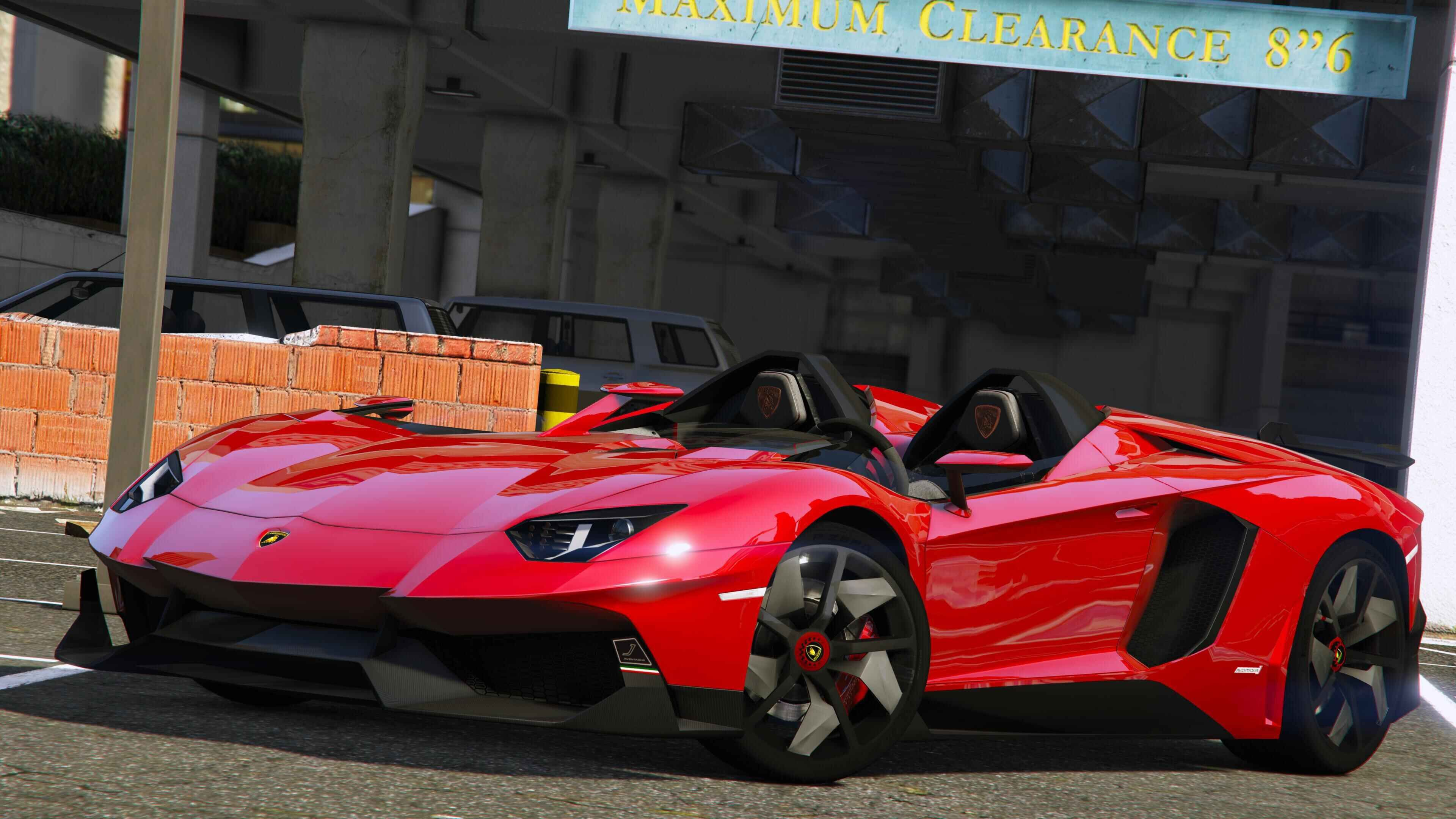 2012 Lamborghini Aventador J Speedster [Add-On] - GTA5 ...
