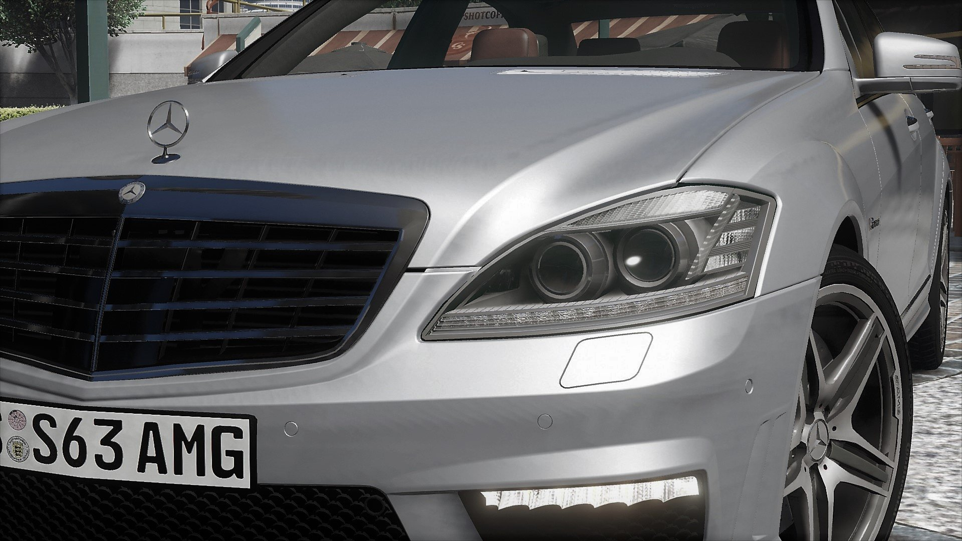 2012 mercedes benz s63 amg w221 add on tuning gta5. Black Bedroom Furniture Sets. Home Design Ideas