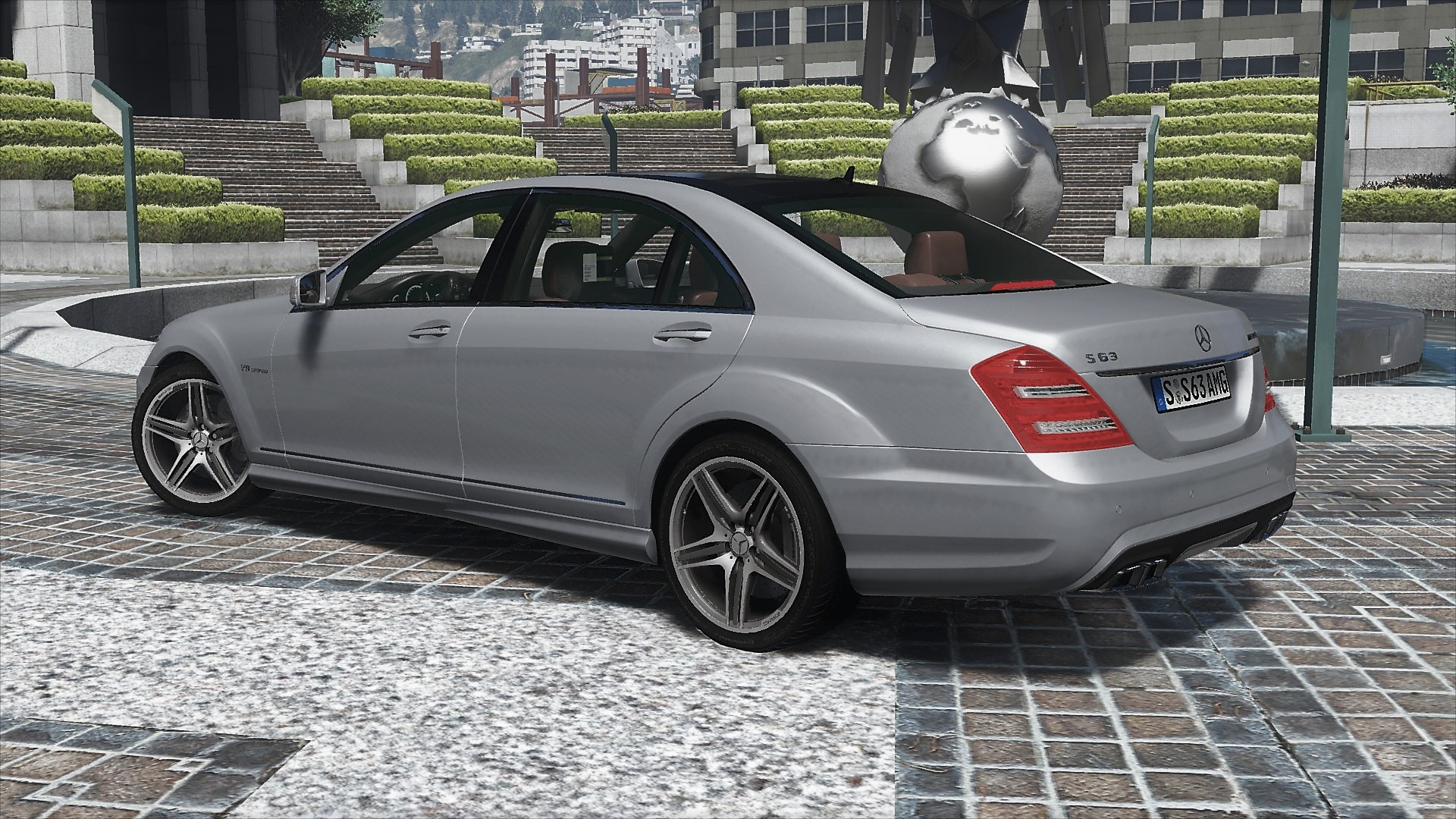 2012 mercedes benz s63 amg w221 add on tuning gta5 for 2012 mercedes benz s63 amg