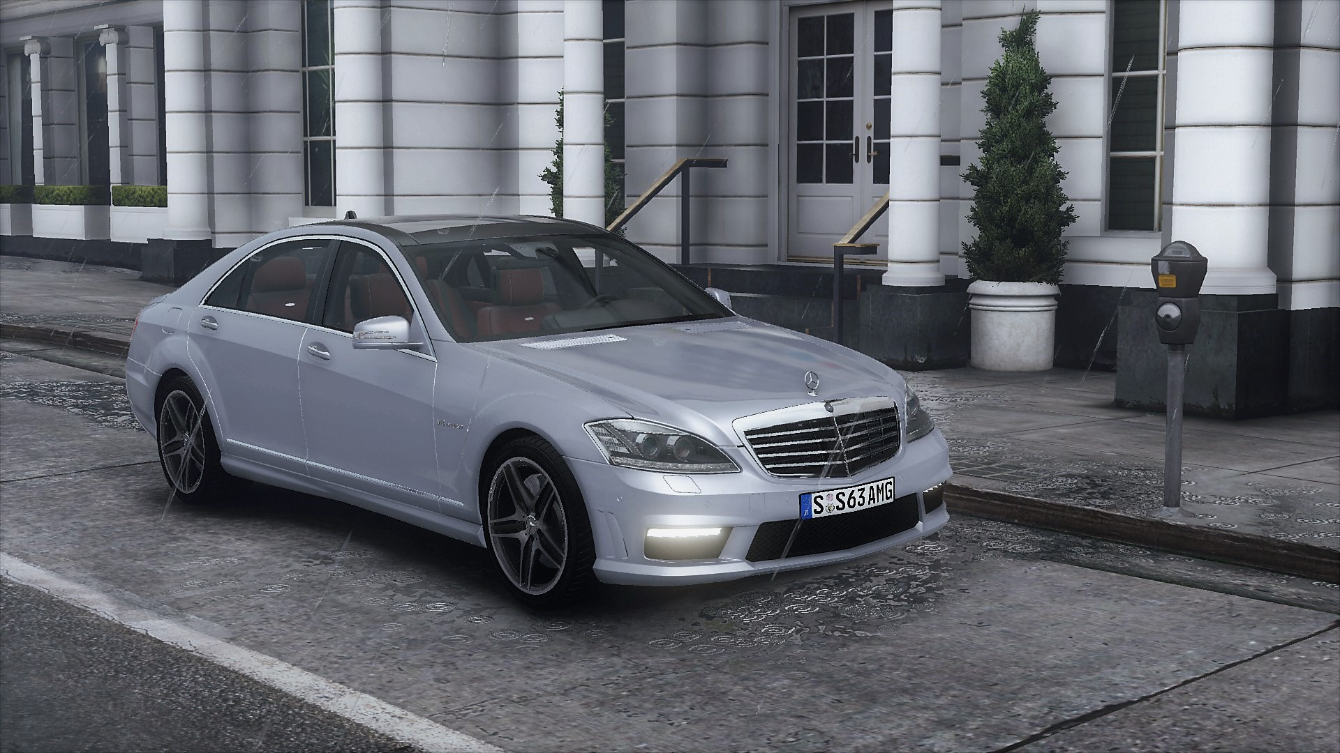 2012 Mercedes Benz S63 AMG W221 [Add