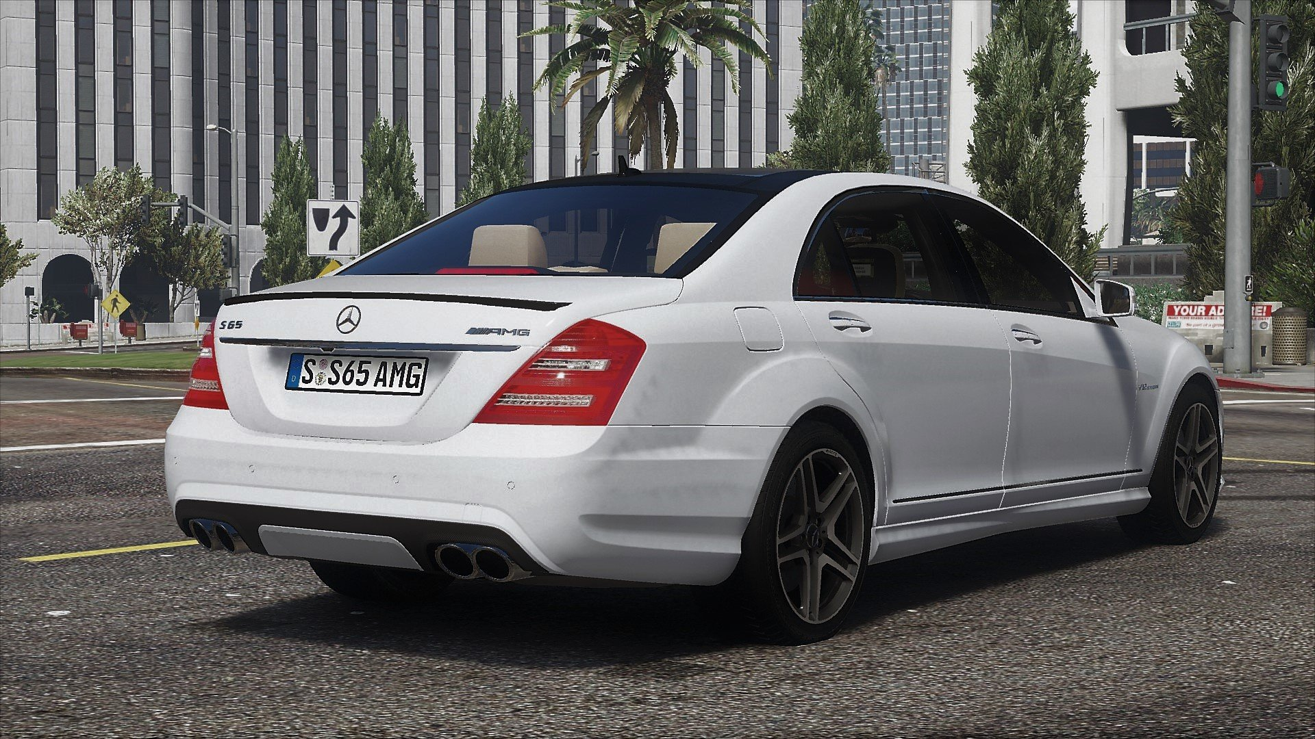2012 mercedes benz s65 amg w221 add on tuning gta5 for Mercedes benz s65 amg